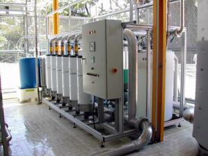 Module réutilisation des eaux usées Dillon Polymem