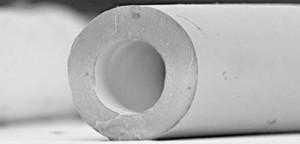 Fibre ultrafiltration Polymem - Vue microscopique
