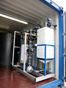 pilote ultrafiltration Saur