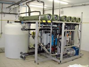 Module recyclage des eaux usées Polymem